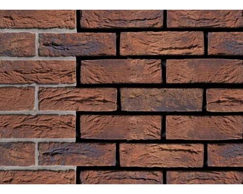 Кирпич ручной формовки Engels Limburgs oranje bont, DF 215x100x65 мм