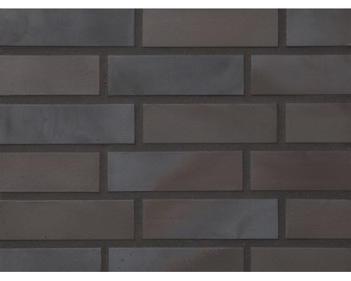 Клинкерная фасадная плитка Stroeher Keravette 336 metallic schwarz, арт. 2110, NF11 240x71x11 мм