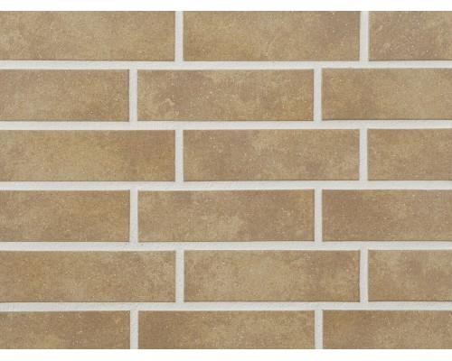 Клинкерная фасадная плитка Stroeher Keravette 835 sandos, арт. 8071, NF8 240x71x8 мм