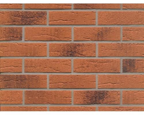 Клинкерная плитка Feldhaus Klinker R228NF terracotta rustico carbo, NF9 240x71x9 мм