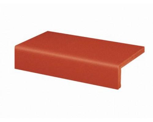 Клинкерная ступень прямая Euramic CLASSICS E 361 naturrot, 4822, 240x115x52x10 мм
