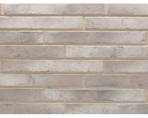 Клинкерная плитка Stroeher KONTUR EG 472 grau engobiert, DF длинный формат 440x52x12 мм
