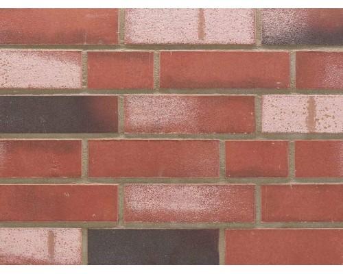 Клинкерная плитка Stroeher KONTUR WS 494 rot-bunt, NF12 240x71x12 мм