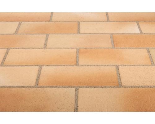 Тротуарная клинкерная плитка Stroeher 123 beige-bunt, 240x115x18 мм