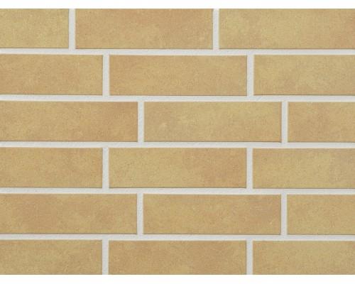 Клинкерная фасадная плитка Stroeher Keravette 834 giallo, арт. 8071, NF8 240x71x8 мм