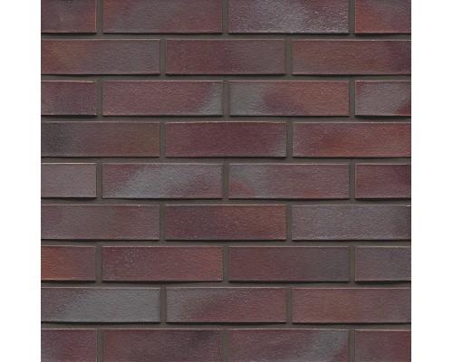 Клинкерный кирпич MUHR NF 10 Violettblau geflammt glatt, NF 240x115x71 мм