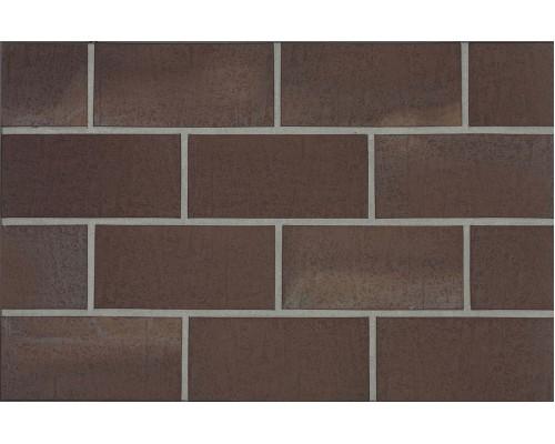 Тротуарная клинкерная плитка Stroeher 212 braun, 240x115x18 мм