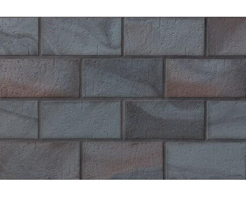 Тротуарная клинкерная плитка Stroeher 336 metallic schwarz, 240x115x18 мм