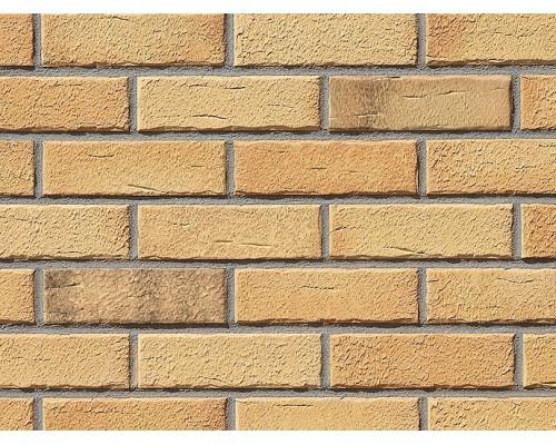 Клинкерная плитка Roben Aarhus gelb-bunt, carbon, NF14 240x14x71 мм