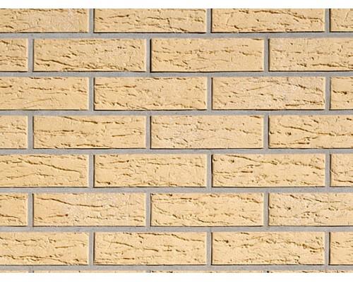 Клинкерная плитка Roben Rimini gelb, genarbt-besandet, NF14 240x14x71 мм