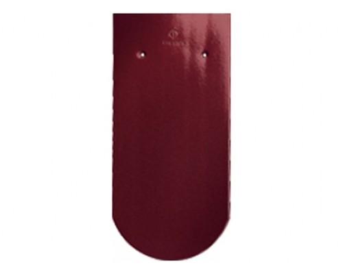Керамическая черепица CREATON Biber Klassik Finesse, красное вино глазурь