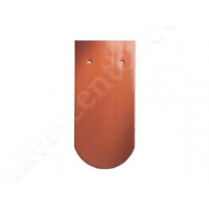 Черепица Бобровый хвост CREATON Biber Klassik Finesse, красная глазурь