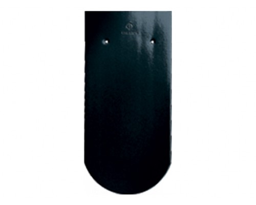 Черепица Бобровый хвост CREATON Biber Klassik Finesse, черная глазурь