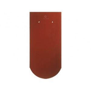 Черепица Бобровый хвост CREATON Biber Klassik Nuance, красное вино ангоб