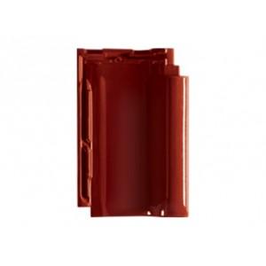 Керамическая черепица CREATON Viva Finesse, красное вино глазурь