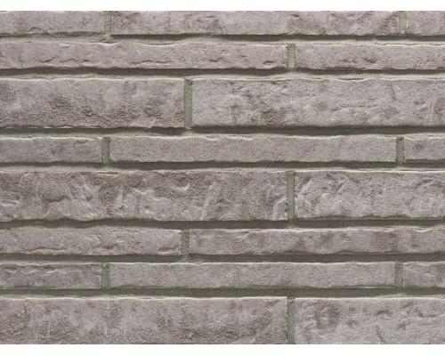 Фасадная плитка (ригель) Stroeher Zeitlos 237 austerrauch, ригель 400x35x14 мм