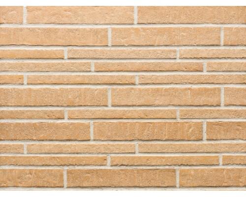 Фасадная плитка (ригель) Stroeher Zeitlos 355 sandschmelz, ригель 400x35x14 мм