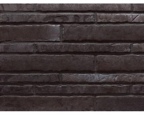 Фасадная плитка (ригель) Stroeher Zeitlos 359 kohleglanz, ригель 400x35x14 мм