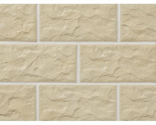 Клинкерная фасадная плитка Stroeher Kerabig KS02 gelb, арт. 8430, формат 30-15 302x148x12 мм