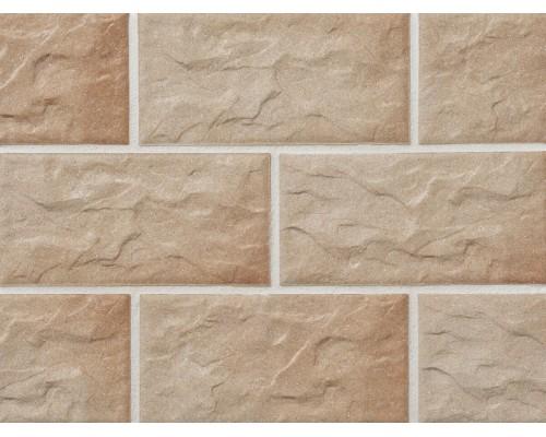 Клинкерная фасадная плитка Stroeher Kerabig KS03 rose, арт. 8430, формат 30-15 302x148x12 мм