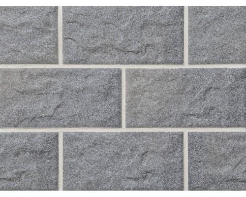 Клинкерная фасадная плитка Stroeher Kerabig KS06 grau, арт. 8430, формат 30-15 302x148x12 мм