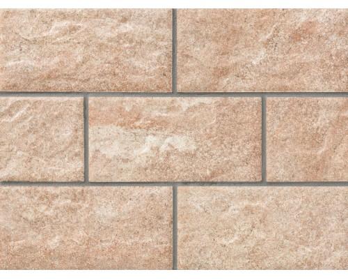 Клинкерная фасадная плитка Stroeher Kerabig KS16 eres, арт. 8430, формат 30-15 302x148x12 мм
