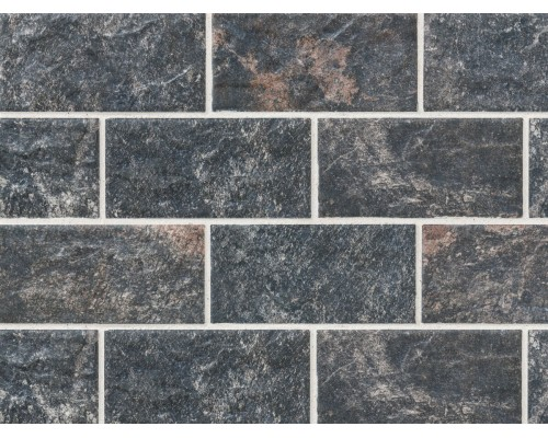 Клинкерная фасадная плитка Stroeher Kerabig KS18 schildpatt, арт. 8430, формат 30-15 302x148x12 мм