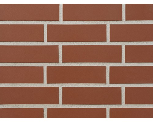 Клинкерная фасадная плитка Stroeher Keravette 215 patrizierrot, арт. 7960, DF8 240x52x8 мм