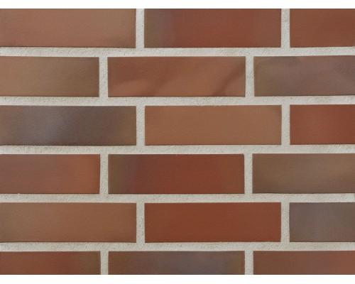 Клинкерная фасадная плитка Stroeher Keravette 316 patrizierrot ofenbunt, арт. 7960, DF8 240x52x8 мм