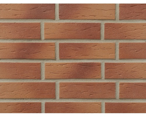 Клинкерная фасадная плитка Stroeher Keraprotect 413 utrecht, арт. 7020, NF11 240x71x11 мм