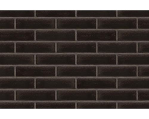 Глазурованная клинкерная плитка King Klinker 17 Onyx black, RF 250x65x10 мм