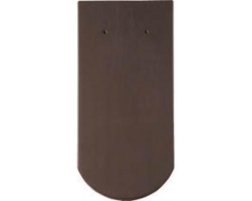 Керамическая черепица Braas Опал коричневий