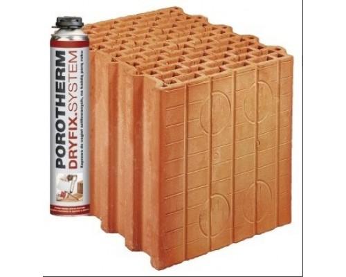 Керамический блок Porotherm 30 DRYFIX