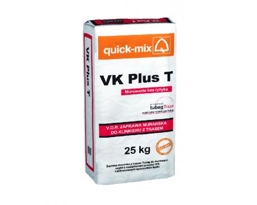 Кладочный раствор Quick-mix VK plus T с трассом